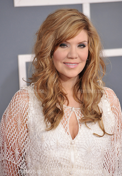 Alison Krauss at the 54th Annual Grammy Awards at the Staples Centre, Los Angeles..February 12, 2012  Los Angeles, CA.Picture: Paul Smith / Featureflash