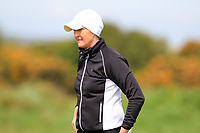 Deirdre Smith (Co. Louth) during the final round at the Irish Woman's Open Stroke Play Championship, Co. Louth Golf Club, Louth, Ireland. 12/05/2019.<br /> Picture Fran Caffrey / Golffile.ie<br /> <br /> All photo usage must carry mandatory copyright credit (&copy; Golffile | Fran Caffrey)