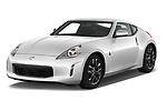 2019 Nissan 370Z-Coupe 7A/T 0 Door Coupe Angular Front stock photos of front three quarter view
