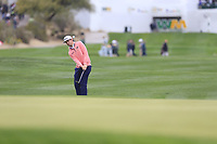 J.T. Poston (USA) on the 18th fairway during the final round of the Waste Management Phoenix Open, TPC Scottsdale, Scottsdale, Arisona, USA. 03/02/2019.<br /> Picture Fran Caffrey / Golffile.ie<br /> <br /> All photo usage must carry mandatory copyright credit (&copy; Golffile | Fran Caffrey)