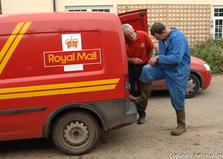 Royal Mail, Post.
