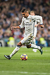 Carlos Henrique Casemiro of Real Madrid in action during the La Liga match between Real Madrid and RC Deportivo La Coruna at the Santiago Bernabeu Stadium on 10 December 2016 in Madrid, Spain. Photo by Diego Gonzalez Souto / Power Sport Images