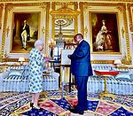 Queen Elizabeth Receives President Ramaphosa