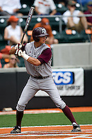 Smith, Adam 0419.jpg.  Big 12 Baseball game with Texas A&M Aggies at Texas Lonhorns  at UFCU Disch Falk Field on May 9th 2009 in Austin, Texas. Photo by Andrew Woolley.