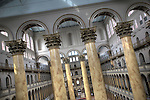 This is a high dynamic range (HDR) image of the National Building Museum in Washington, DC, a museum of architecture, design, engineering, construction, and urban planning.  In the Great Hall, the Corinthian columns, at 75 feet tall and 8 feet in diameter, are among the largest in the world.