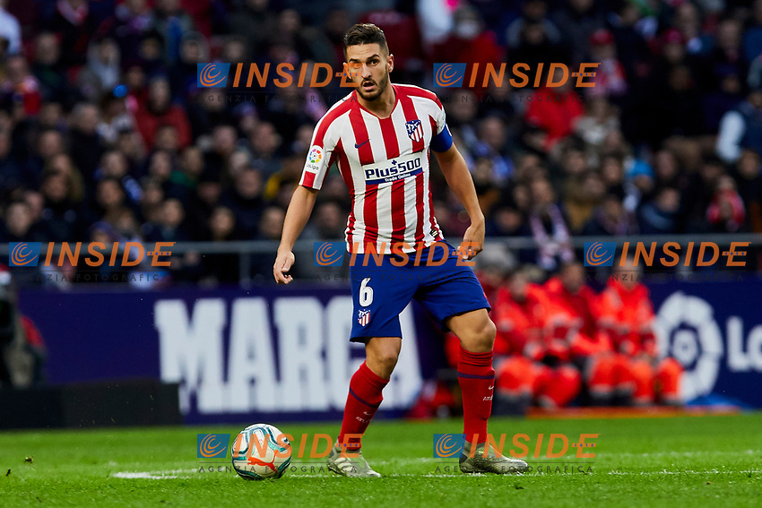 Jorge Resurreccion 'Koke' of Atletico de Madrid during La Liga match between Atletico de Madrid and RCD Espanyol at Wanda Metropolitano Stadium in Madrid, Spain. November 10, 2019. (ALTERPHOTOS/A. Perez Meca)<br /> Liga Spagna 2019/2020 <br /> Atletico Madrid - Espanyol <br /> Photo Alterphotos / Insidefoto <br /> ITALY ONLY