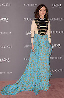 LOS ANGELES, CA - NOVEMBER 04: Rowan Blanchard at the 2017 LACMA Art + Film Gala Honoring Mark Bradford And George Lucas at LACMA on November 4, 2017 in Los Angeles, California. Credit: David Edwards/MediaPunch /NortePhoto.com