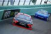 #18: Ryan Preece, Joe Gibbs Racing, Toyota Camry Rheem-Watts and #1: Elliott Sadler, JR Motorsports, Chevrolet Camaro Chevrolet OneMain Financial