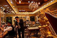 60 million HK dollar gold chariot built to attract tourists.