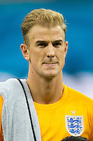 Goalkeeper Joe Hart of England