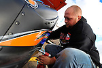 Mar 29, 2009; 9:34:03 AM; Concord, NC, USA; World of Outlaws Series race for the Circle K Colossal 100 at the Dirt Track Lowes Motor Speedway.  Mandatory Credit: (thesportswire.net)