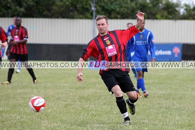 SITTINGBOURNE v AVELEY<br /> PRE SEASON FRIENDLY<br /> SATURDAY 4TH AUGUST 2012