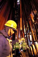 Construction of a power station at Pingdingshan, Henan...