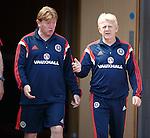 Stuart McCall and Gordon Strachan
