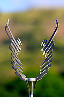 Trophy on display during the first round of the Afrasia Bank Mauritius Open played at Heritage Golf Club, Domaine Bel Ombre, Mauritius. 30/11/2017.<br /> Picture: Golffile | Phil Inglis<br /> <br /> <br /> All photo usage must carry mandatory copyright credit (&copy; Golffile | Phil Inglis)