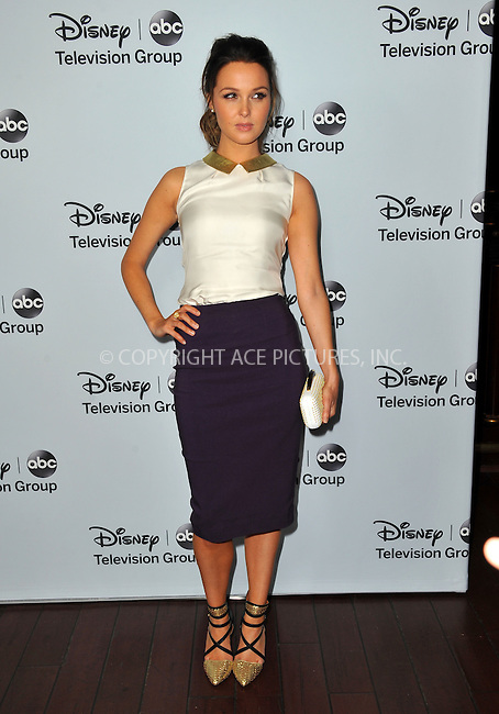 WWW.ACEPIXS.COM<br /> <br /> January 17 2014, LA<br /> <br /> Camilla Luddington arriving at the ABC/Disney TCA Winter Press Tour party at The Langham Huntington Hotel and Spa on January 17, 2014 in Pasadena, California.<br /> <br /> By Line: Peter West/ACE Pictures<br /> <br /> <br /> ACE Pictures, Inc.<br /> tel: 646 769 0430<br /> Email: info@acepixs.com<br /> www.acepixs.com