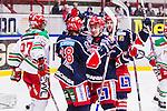 S&ouml;dert&auml;lje 2013-12-12 Ishockey Hockeyallsvenskan S&ouml;dert&auml;lje SK - Mora IK :  <br /> S&ouml;dert&auml;lje 28 Jesper Fr&ouml;d&eacute;n har kvitterat till 1-1 och gratuleras av S&ouml;dert&auml;lje 19 Jason Gregoire och S&ouml;dert&auml;lje 33 Linus Fr&ouml;berg <br /> (Foto: Kenta J&ouml;nsson) Nyckelord:  jubel gl&auml;dje lycka glad happy