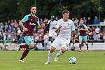 29.07.2017, Heinz-Dettmer-Stadion, Lohne, GER, FSP, SV Werder Bremen vs West Ham United<br /> <br /> im Bild<br /> Marko Arnautovic (West Ham #18), Max Kruse (Werder Bremen #10) am Ball, <br /> <br /> Foto &copy; nordphoto / Ewert