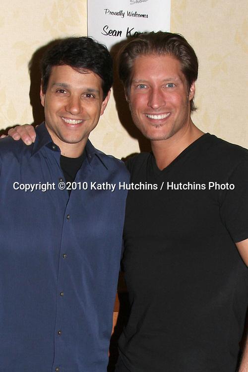 "Ralph Macchio & Sean Kanan ""The Karate Kid III"".at the Hollywood Collector's Show Spring 2010.Burbank Mariott Convention Center.Burbank, CA.April 24, 2010.©2010 Kathy Hutchins / Hutchins Photo..."