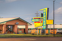 The Western Motel on Route 66 in Sayer Oklahoma.