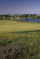 Prince Edward Island, Canada, P.E.I., Scenic view of the fishing village of French River on Prince Edward Island.