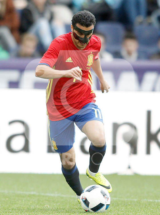 Spain's Pedro Rodriguez during friendly match. June 1,2016.(ALTERPHOTOS/Acero)