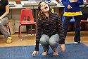 Children in Colleen Carey's Theatre Class at Kimball Elementary School.