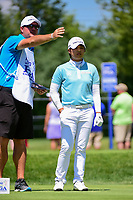 Haru Nomura (JPN) prepares to tee off on 2 during Saturday's round 3 of the 2017 KPMG Women's PGA Championship, at Olympia Fields Country Club, Olympia Fields, Illinois. 7/1/2017.<br /> Picture: Golffile | Ken Murray<br /> <br /> <br /> All photo usage must carry mandatory copyright credit (&copy; Golffile | Ken Murray)
