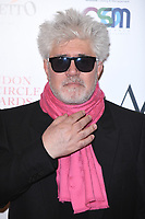 LONDON, UK. January 20, 2019: Pedro Almodovar arriving for the London Critics' Circle Film Awards 2019 at the Mayfair Hotel, London.<br /> Picture: Steve Vas/Featureflash