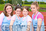 St Brendan's athletes at the Kerry Athletic Championships in Castleisland on Sunday was l-r: Shannon Lowe, Jenny O'mahony, Zoe Newsome-McDonnell and Tara Lowe   Copyright Kerry's Eye 2008
