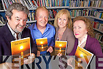 Tutors and students from the Cultural Studies Course in Listowel Community College at the launch of their book, 'Our Own Voice' last Tuesday evening in Listowel library..John McGrath(Tutor),Patrick Kavanagh, Marie Marsham and Winnifred Greaney, John McGrath(tutor):