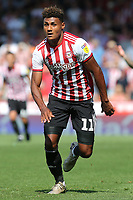 Ollie Watkins of Brentford during Brentford vs Rotherham United, Sky Bet EFL Championship Football at Griffin Park on 4th August 2018