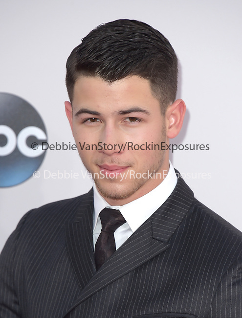 Nick Jonas at The 2014 American Music Award held at The Nokia Theatre L.A. Live in Los Angeles, California on November 23,2014                                                                               © 2014 Hollywood Press Agency