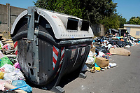 Roma, 29 Giugno 2019<br /> Tor Sapienza.<br /> Rifiuti in strada,emergenza