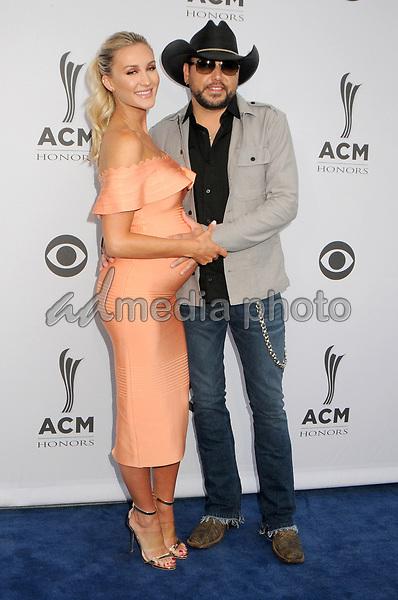 23 August 2017 - Nashville, Tennessee - Jason Aldean, Brittany Kerr. 11th Annual ACM Honors held at the Ryman Auditorium. Photo Credit: Dara-Michelle Farr/AdMedia
