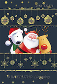 Isabella, CHRISTMAS SANTA, SNOWMAN, paintings(ITKE532471,#X#)