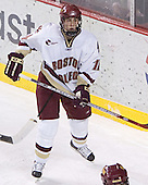 Kyle Kucharski - The Boston College Eagles and Ferris State Bulldogs tied at 3 in the opening game of the Denver Cup on Friday, December 30, 2005, at Magness Arena in Denver, Colorado.  Boston College won the shootout to determine which team would advance to the Final.