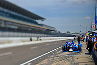 Verizon IndyCar Series<br /> Indianapolis 500 Practice<br /> Indianapolis Motor Speedway, Indianapolis, IN USA<br /> Tuesday 16 May 2017<br /> The car of Tony Kanaan, Chip Ganassi Racing Teams Honda on pit lane.<br /> World Copyright: F. Peirce Williams