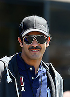 Jul. 28, 2013; Sonoma, CA, USA: NHRA team owner Sheikh Khalid Bin Hamad Al Thani in attendance during the Sonoma Nationals at Sonoma Raceway. Mandatory Credit: Mark J. Rebilas-