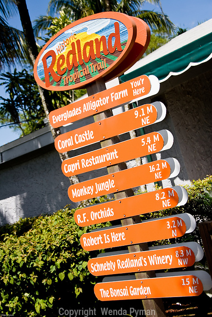 The historic Redland Tropical Trail encompasses many attractions in the agricultural area of South Miami-Dade County.
