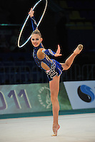 "ELIZAVETA NAZARENKOVA of Russia performs at 2011 World Cup Kiev, ""Deriugina Cup"" in Kiev, Ukraine on May 06, 2011."