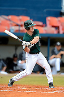 Dartmouth Big Green outfielder Jeff Keller during a game against the Long Island Blackbirds at Chain of Lakes Stadium on March 17, 2013 in Winter Haven, Florida.  Dartmouth defeated UAB 11-4.  (Mike Janes/Four Seam Images)