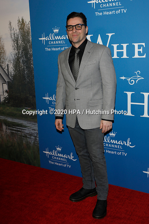 LOS ANGELES - FEB 11:  Kavan Smith at the 'When Calls the Heart' TV show season 7 premiere at the Beverly Wilshire Hotel on February 11, 2020 in Beverly Hills, CA