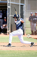 Yair Lopez - San Diego Padres - 2010 Instructional League.Photo by:  Bill Mitchell/Four Seam Images..