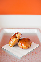 The Creme Brûlée donuts at Rise in Durham, N.C. on Monday, March 9, 2015. (Justin Cook)