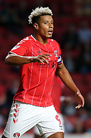 Lyle Taylor of Charlton Athletic during Charlton Athletic vs Nottingham Forest, Sky Bet EFL Championship Football at The Valley on 21st August 2019