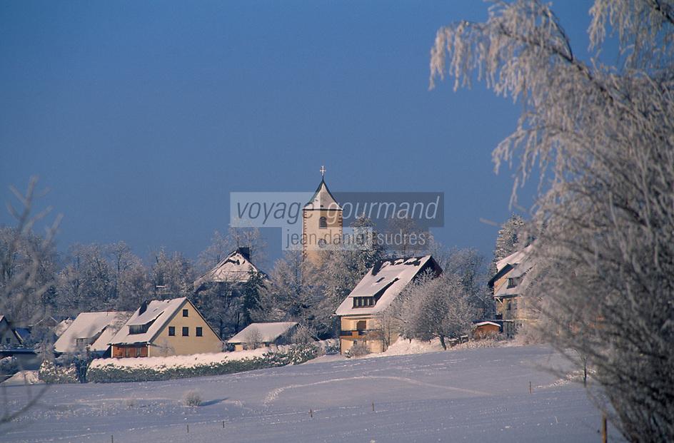 Europe/Allemagne/Forêt Noire/Breitnau : Le village