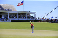 Paul Casey (ENG) putts on the 9th green during Saturday's Round 3 of the 118th U.S. Open Championship 2018, held at Shinnecock Hills Club, Southampton, New Jersey, USA. 16th June 2018.<br /> Picture: Eoin Clarke | Golffile<br /> <br /> <br /> All photos usage must carry mandatory copyright credit (&copy; Golffile | Eoin Clarke)