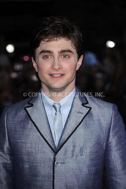 WWW.ACEPIXS.COM . . . . .  ....July 9 2009, New York City....Actor Daniel Radcliffe at the New York premiere of 'Harry Potter and the Half-Blood Prince' at Ziegfeld Theatre on July 9, 2009 in New York City....Please byline: KRISTIN CALLAHAN - ACE PICTURES.... *** ***..Ace Pictures, Inc:  ..tel: (212) 243 8787 or (646) 769 0430..e-mail: info@acepixs.com..web: http://www.acepixs.com