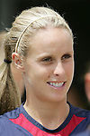 30 July 2006: Leslie Osborne. The United States Women's National Team defeated Canada 2-0 at SAS Stadium in Cary, North Carolina, in an International Friendly match.